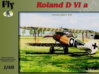 German fighter Roland D VIa - Image 1