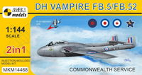 de Havilland Vampire FB.5/FB.52 (2in1)