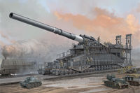 German IIWW 800mm K(E) Railway Gun Dora