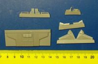 Hawker Hurricane Mk.I - Main Undercarriage Set for Airfix kit - Image 1