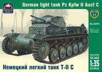 Pz Kpfw II Ausf C German light tank - Image 1