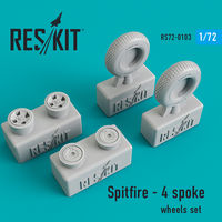 Spitfire - 4 spoke wheels set - Image 1