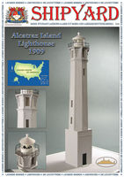 Alcatraz Island Lighthouse  nr16 skala 1:87