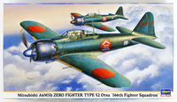 "Mitsubishi A6M5b Zero Fighter Type 52 Otsu ""166th Fighter Squadron"" - Image 1"