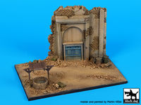 House ruin with well base (150x100 mm)