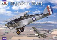British bi-plane fighter Hawker Hart