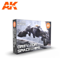 GREY FOR SPACESHIPS SET
