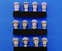 German Heads set #2 (WWII) 12ea - Image 1