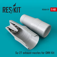 Su-27 exhaust nozzles for GWH Kit - Image 1