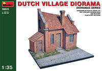 DUTCH VILLAGE DIORAMA