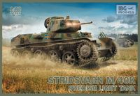 Stridsvagn m/40 K Swedish light tank