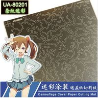 Camouflage Cover Mat - Image 1