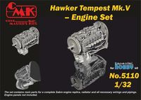 Tempest V Engine Set for Special Hobby kit