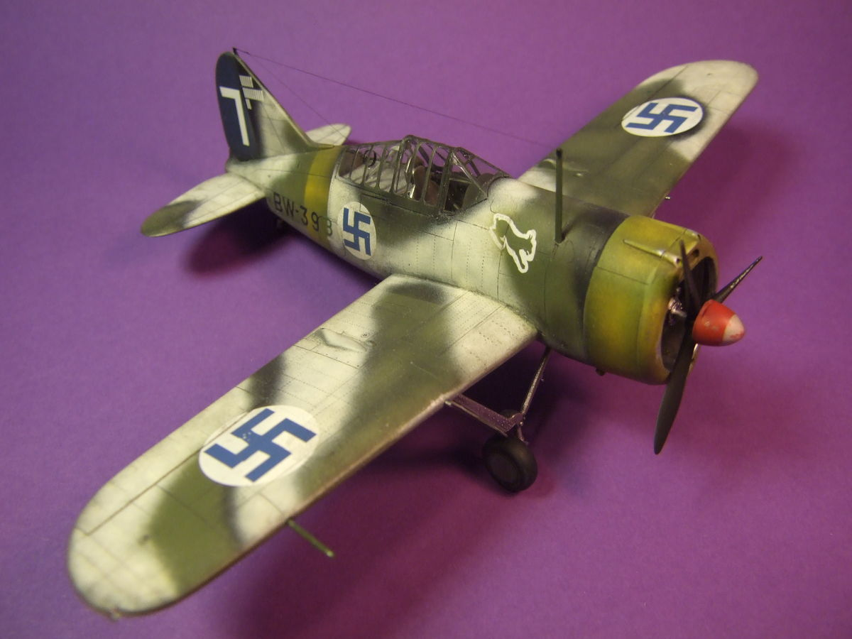 Brewster Buffalo Special Hobby 1/48 - 005 - Image 1