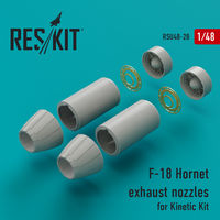 F-18 Hornet exhaust nozzles for Kinetic Kit - Image 1