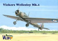Vickers Wellesley Mk.I British long range bomber