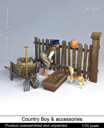 Country Boy & accessories - Image 1