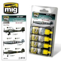 A.MIG 7210 LUFTWAFFE WWII EARLY COLORS Set