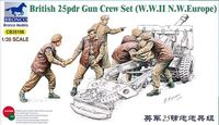 British 25pdr Gun Gun Crew Set (WWII N.W. Europe)