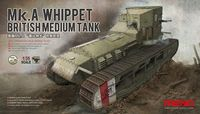 British medium tank Mk.A Whipet
