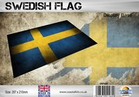 Swedish Flag 297 x 210mm - Image 1