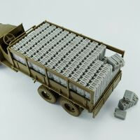Fuel load for GMC CCKW 353 (Tamiya)