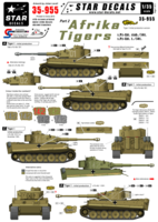 Afrika Tigers # 2 - s.Pz-Abt. 501. White numbers.