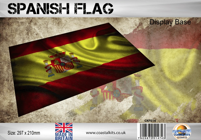 Spanish Flag 297 x 210mm - Image 1