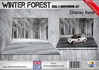 Winter Forest Base & Background Set 297 x 210 x 297mm