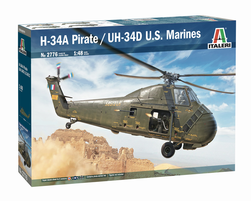 H-34A Pirate /UH-34D U.S. Marines - Image 1