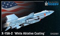 X-15A-2 White Ablative Coating