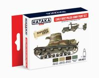 HTK-AS11 Early WW2 Polish Army paint set