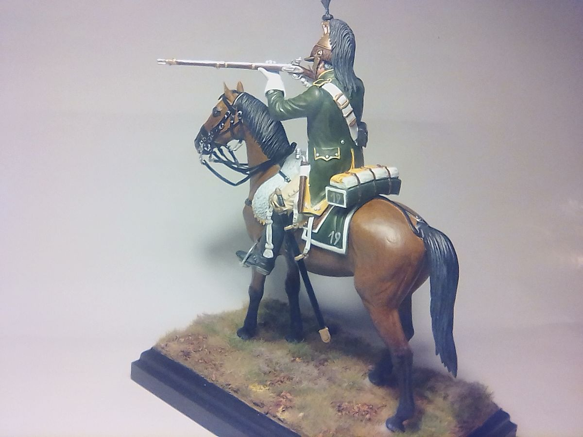 French Dragoon 1813 1/16 MiniArt - 001 - Image 1