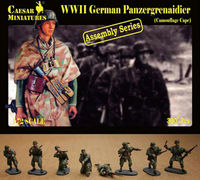 German Panzergrenaidier (Camouflage Cape) (ASSEMBLY SERIES)