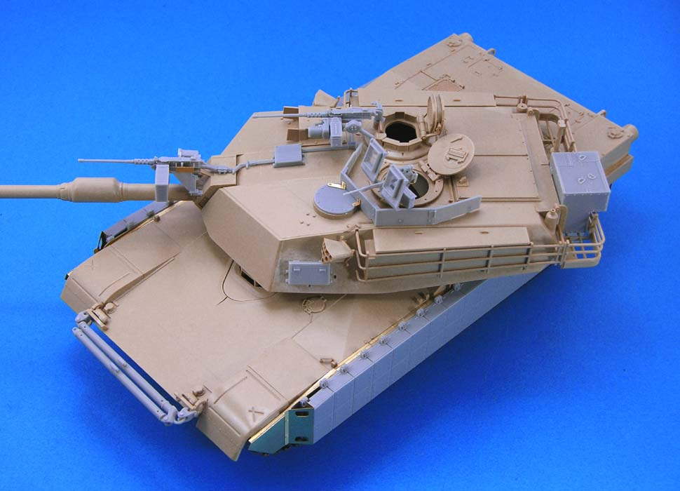 M1A2(A1) TUSK Conversion set (for Tamiya M1A1/A2) - Image 1