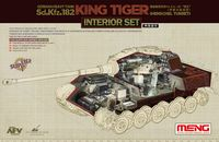 "German Heavy Tank Sd.Kfz.182 ""King Tiger"" (Henschel Turret) Interior Set"