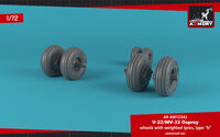 "OV-22 Osprey wheels w/ weighted tires type ""b"""