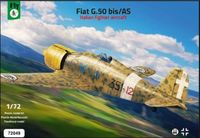 Fiat G.50 bis/AS Italian Fighter Aircraft