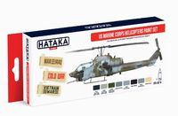 HTK-AS14 US Marine Corps Helicopters Paint Set