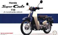 Honda Super Cub 110 (Urbane Denim Blue Metallic)
