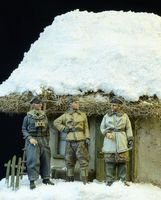Waffen SS Officers Winter 1943-45