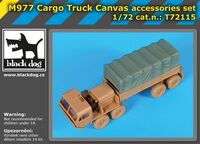 M 977 Cargo truck canvas accessories set for Academy - Image 1