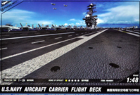 US Navy Aircraft Carrier Deck - Image 1