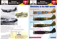 Bristol Blenheim Mk I - Blenheims in the RAF service