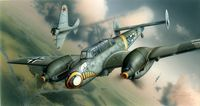 Bf 110E German WWII Heavy Fighter