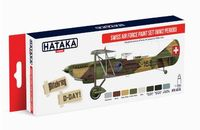 HTK-AS15 Swiss Air Force Paint Set (WW2 period)