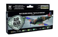 "71144 Air War Color Series - RAF Colors Special ""Battle of Britain"" Set"