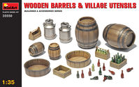 Wooden Barrels and Village utensils - Image 1