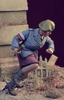 WWII Polish Home Army Girl Warsaw Uprising - Image 1