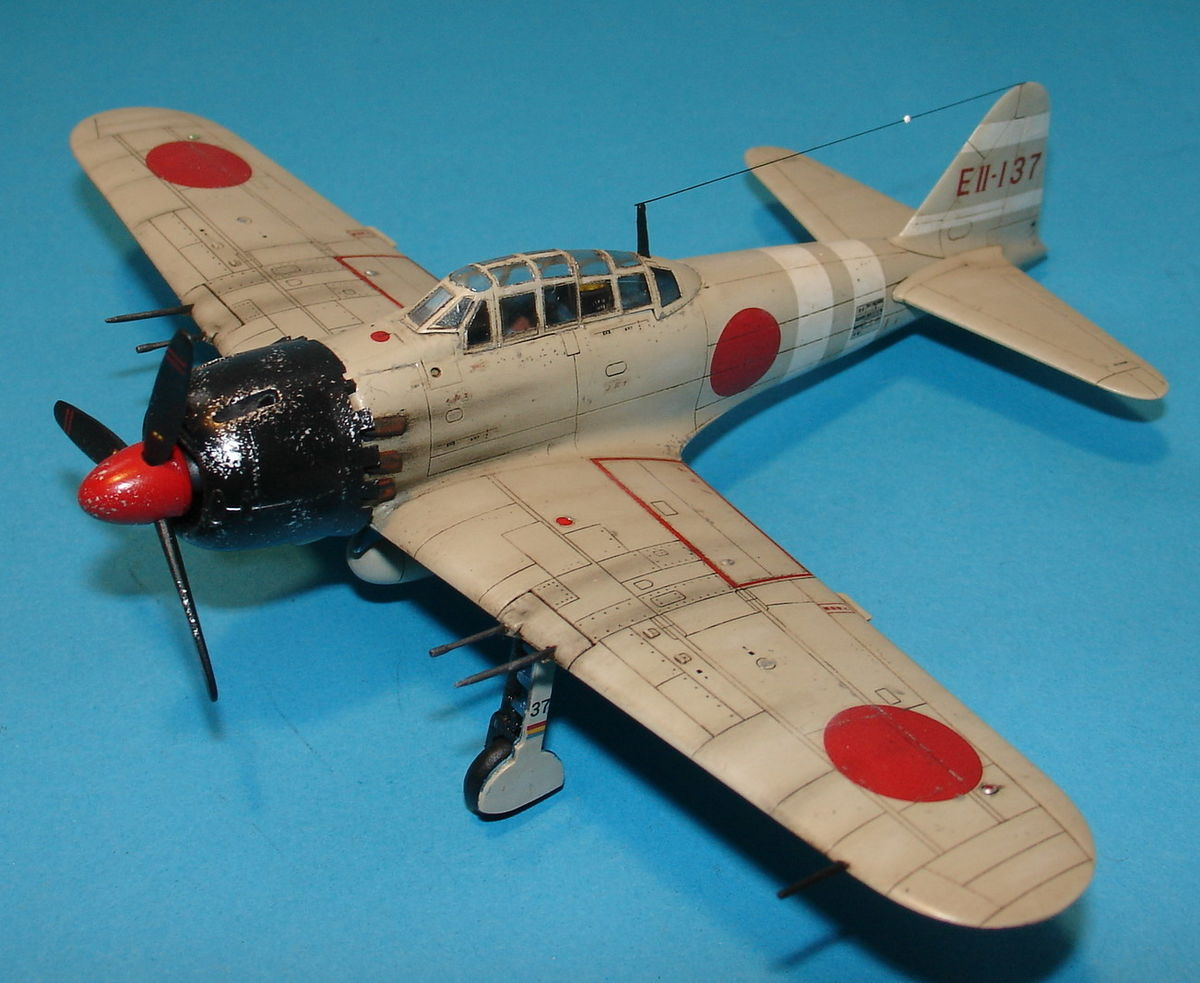 A6M5 Zero Fighter 1/72 Hobby Boss 80241 - 001 - Image 1